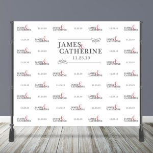 10' x 8' Wedding Backdrop with Stand