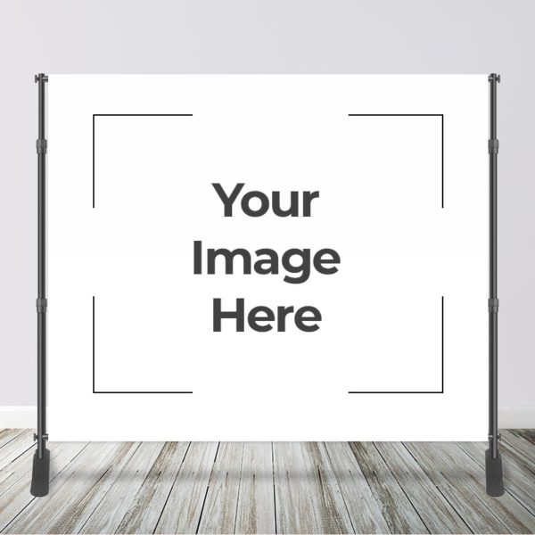 10' x 8' Your Image Backdrop with Stand